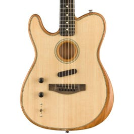Image for American Acoustasonic Telecaster Left-Handed Electric Guitar from SamAsh