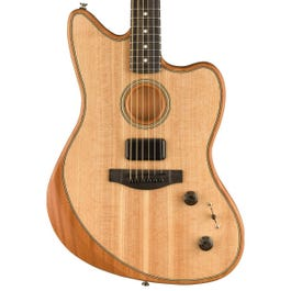 Fender American Acoustasonic Jazzmaster Acoustic-Electric Guitar Natural