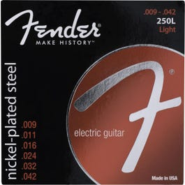 Image for Super 250 Nickel Plated Steel Electric Guitar Strings (9-42) from SamAsh