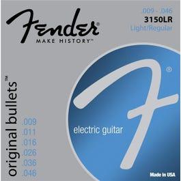 3150LR Original Bullets - Bullet Ends, Pure Nickel Electric Guitar Strings (9-46)