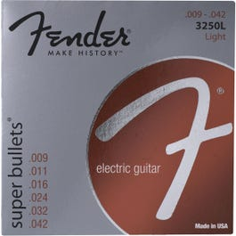 Image for Super Bullets Nickelplated Light Electric Guitar Strings (9-42) from SamAsh