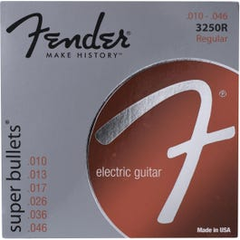 Image for Super Bullets Nickelplated Regular Electric Guitar Strings (10-46) from SamAsh