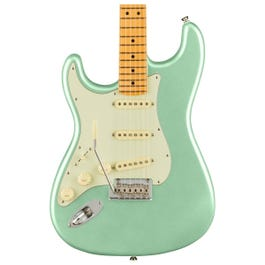 Fender American Professional II Stratocaster Left-Hand, Mystic Surf Green, Maple Fingerboard