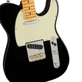 Image for American Professional II Telecaster Electric Guitar (Black, Maple Fretboard) from SamAsh