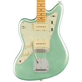Fender American Professional II Jazzmaster Left-Handed Electric Guitar (Mystic Surf Green, Maple Fretboard)