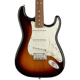 Fender Player Stratocaster Electric Guitar (3-Color Sunburst, Pau Ferro Fretboard) (Restock)