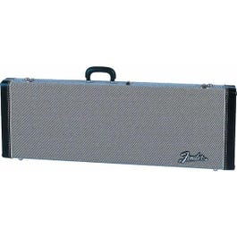 Image for Deluxe Black Tweed Stratocaster or Telecaster Electric Guitar Case from SamAsh