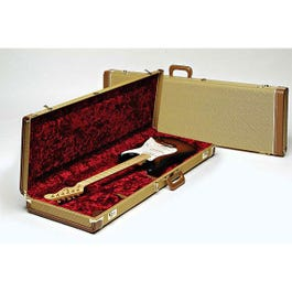 Image for Deluxe Tweed Stratocaster or Telecaster Electric Guitar Case from SamAsh