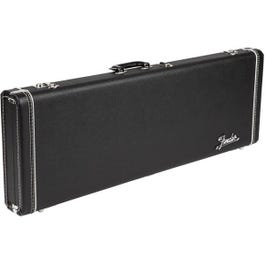 Image for Deluxe Black Tolex Lefty Telecaster or Stratocaster Electric Guitar Case from SamAsh