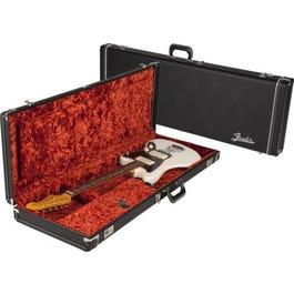 Image for Deluxe Black Hardshell Electric Guitar Case (for Jaguar/Jazzmaster/Toronado/Jagmaster) from SamAsh