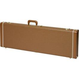 Image for Deluxe Brown Electric Guitar Case (for Jaguar/Jazzmaster/Toronado/Jagmaster) from SamAsh