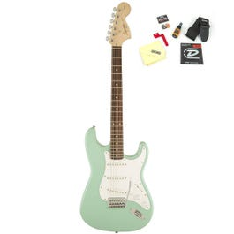 Image for Affinity Series Stratocaster Electric Guitar Surf Green with Accessories from SamAsh