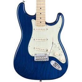 Image for Deluxe Strat Electric Guitar (Sapphire Blue Transparent, Maple Fretboard) (Demo) from Sam Ash