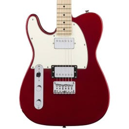 Image for Contemporary Telecaster HH Left-Handed Electric Guitar (Dark Red Metallic) from SamAsh