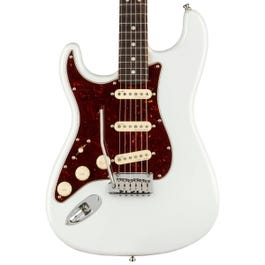 Fender American Ultra Stratocaster Left-Handed Electric Guitar (Arctic Pearl, Rosewood Fretboard)