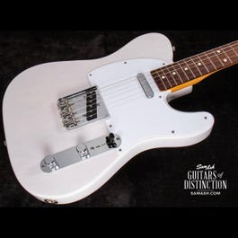 Image for Artist Series Jimmy Page Mirror Telecaster Electric Guitar White Blonde Lacquer from SamAsh
