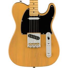 Fender American Professional II Telecaster Electric Guitar (Butterscotch Blonde, Maple Fretboard)