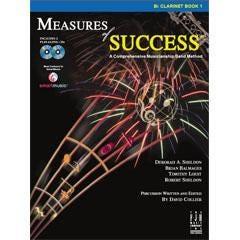 FJH Music Measures of Success-Bass Clarinet 1- Book & 2 CD's