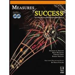 Image for Measures of Success-Bari Sax 2 (Book & 2cd'S ) from SamAsh