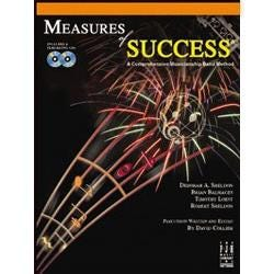 Image for Measures of Success 2-All Instruments (Book and CD) from SamAsh