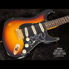 Image for Stevie Ray Vaughan Stratocaster Relic Electric Guitar from SamAsh