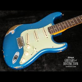 Image for 1959 Stratocaster Heavy Relic Electric Guitar Aged Lake Placid Blue from SamAsh
