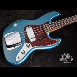 Image for 1961 Jazz Bass Heavy Relic Electric Guitar Lake Placid Blue from SamAsh