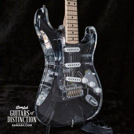 Image for Master Built Scott Buehl Acrylic Stratocaster Electric Guitar Clear from SamAsh