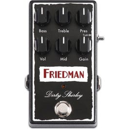 Image for Dirty Shirley Overdrive Effect Pedal from SamAsh