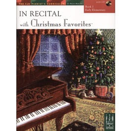 FJH Music In Recital® with Christmas Favorites, Book 1