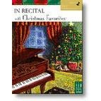 FJH Music In Recital with Christmas Favorites Book 4 with CD (Early Intermediate)