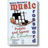 FJH Music Music Crossword Puzzles and Games for Christmas