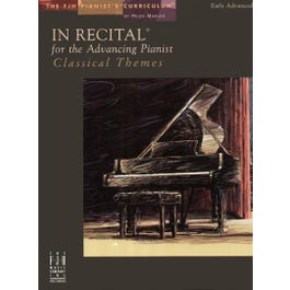 Image for In Recital® for the Advancing Pianist–Classical Themes from SamAsh
