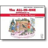 FJH Music The All-In-One Approach to Succeeding at the Piano, Merry Christmas! - Preparatory Book A