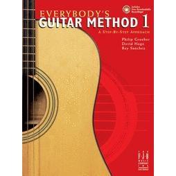 FJH Music Everybody's Guitar Method, Book 1-BK+AUDIO