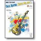 FJH Music Way To Play:Jazz Guitar: Chord Melody1