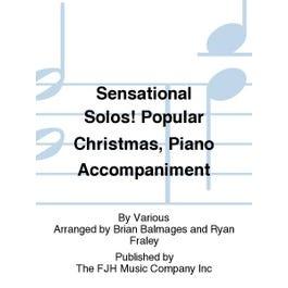 FJH Music Sensational Solos! Popular Christmas, Piano