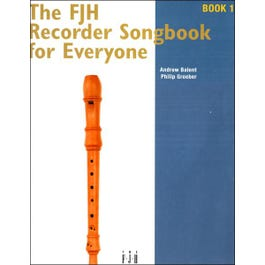 Image for FJH Recorder Songbook for Everyone - Book 1 from SamAsh
