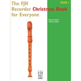 FJH Music The FJH Recorder Christmas Book for Everyone #1