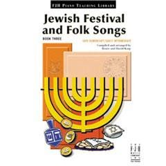 Image for Jewish Festival and Folk Songs