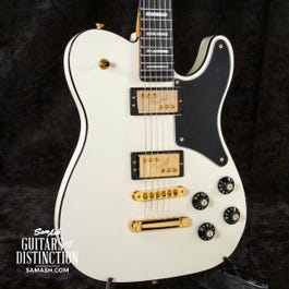 Fender Parallel Universe Volume II Troublemaker Tele Deluxe Electric Guitar Olympic White