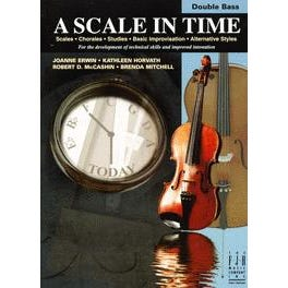 FJH Music A Scale in Time, Double Bass