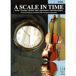 FJH Music A Scale in Time, Cello