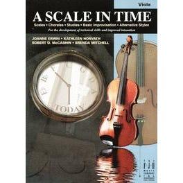 FJH Music A Scale in Time, Viola