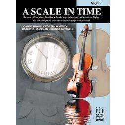 FJH Music A Scale in Time, Violin