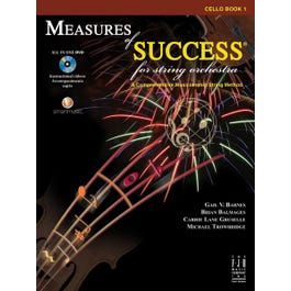 Image for Measures of Success for String Orchestra-Measures of Success for String Orchestra-Cello BK/DVD from SamAsh