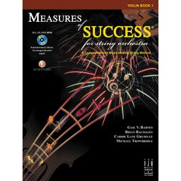 Image for Measures of Success for String Orchestra-Violin BK/DVD from SamAsh