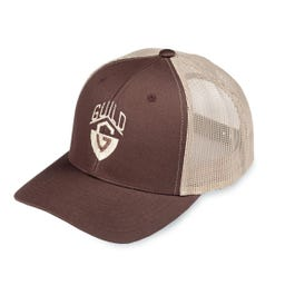 Guild G-Shield Logo Trucker Hat, Khaki