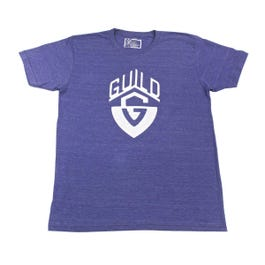Image for Distressed G-Shield Navy Crew Tee from SamAsh