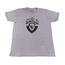 Image for Distressed G-Shield Grey Crew Tee from SamAsh